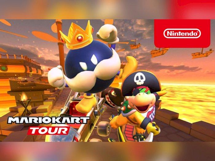Nintendo Hadirkan Bos dari Super Mario 64 ke Game Mario Kart Tour!
