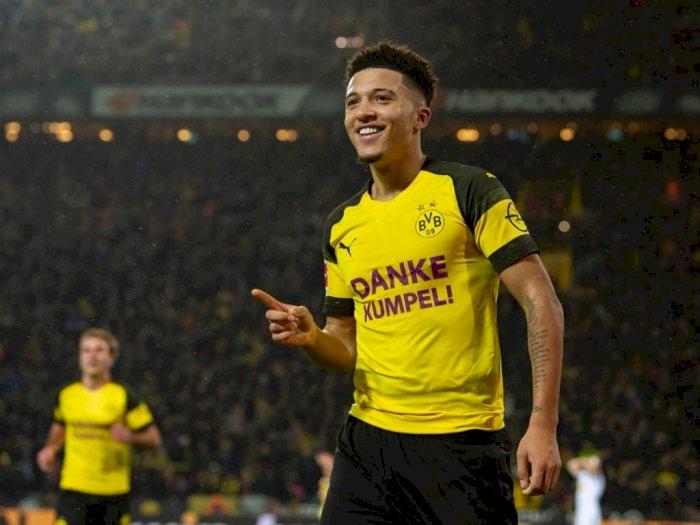 Jadon Sancho: Saya Senang Main di Dortmund!