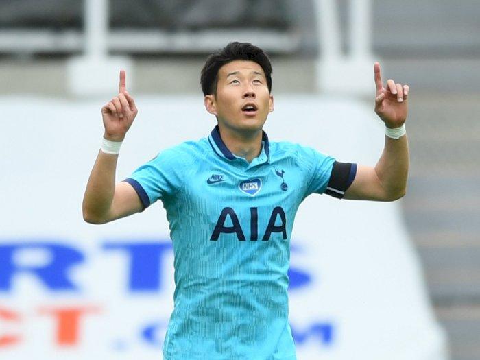 Son Heung-Min Raih Penghargaan Gol Terbaik Liga Inggris Musim 2019/20