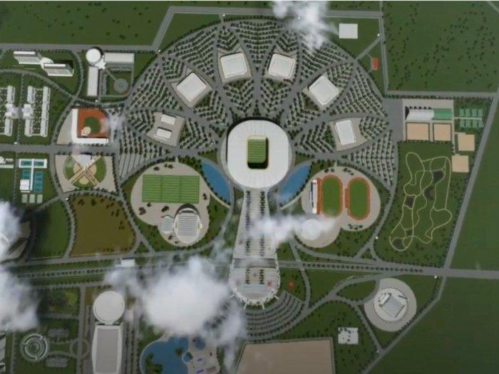 FOTO: Menengok Desain Sport Center Sumatera Utara, Bikin Bangga Orang Sumut!