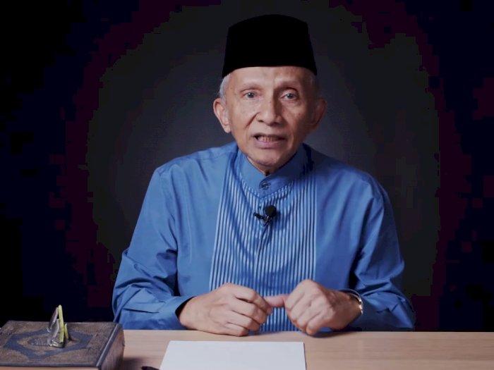 Amien Rais Nilai Ketuhanan Indonesia Makin Menurun