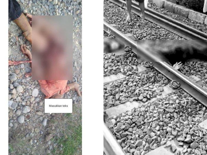3 Orang Tewas Ditabrak Kereta Api Jelang HUT ke-75 Kemerdekaan RI, Ada Apa?