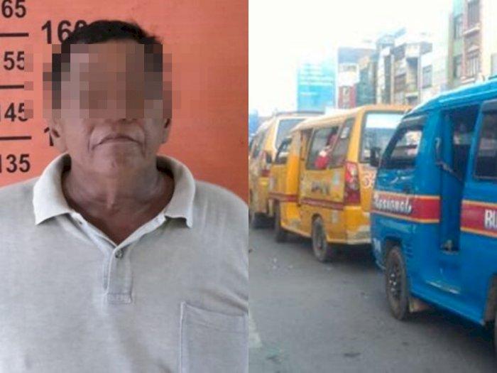 Tuduh Bawa Istrinya Kabur, Lelaki Paruh Baya Bacok Sopir Angkot di Medan