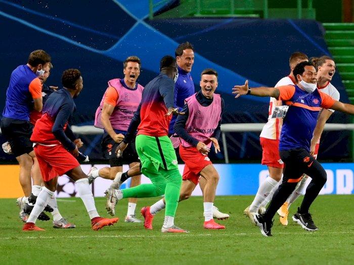 RB Leipzig Melaju ke Semifinal Usai Hajar Atletico Madrid
