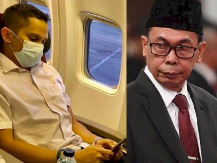 Anak Amien Rais Ribut dengan Wakil Ketua KPK, Tak Terima Ditegur Asik Teleponan di Pesawat