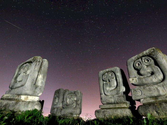 FOTO: Meteor Perseid Yang Indah di Langit Bosnia