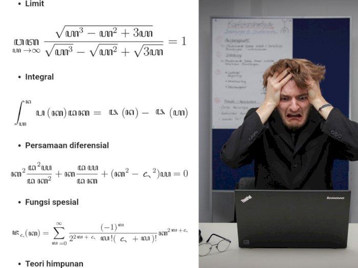 Viral Materi Kalkulus Beraksara Jawa yang Bikin Netizen Tercengang, Ada yang Ngerti?