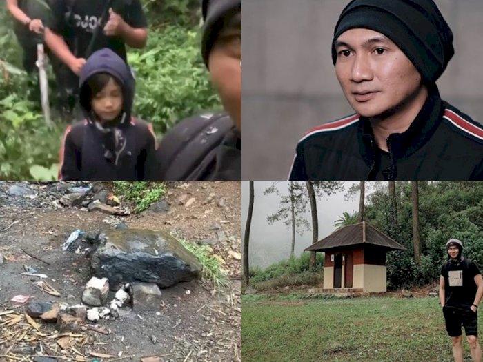 Ajak Anak Daki Gunung Puntang, Anji Kesal Lihat Banyak Sampah: Kesadaran Pengunjung Lemah