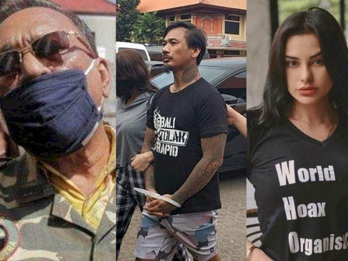 Ditahan Polisi, Jerinx SID Ajukan Penangguhan, Istri Cantik dan Ayahnya Jadi Jaminan