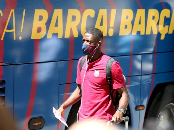 Jelang Duel Lawan Bayern, Dembele Kembali Perkuat Barcelona