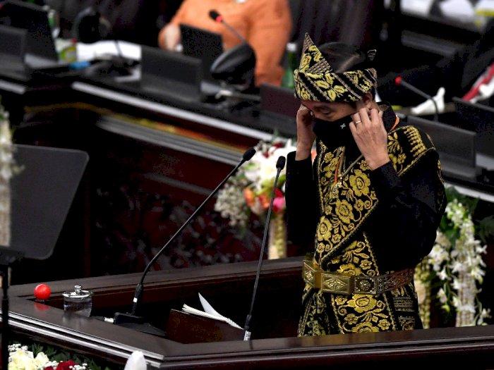 FOTO: Presiden Jokowi pada Sidang Tahunan MPR