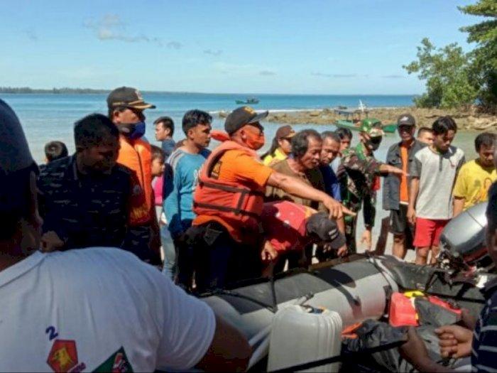 Nelayan Nias Utara yang Hilang Dihantam Ombak Ditemukan Meninggal