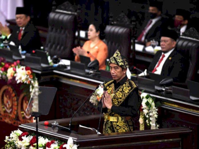 Negara Maju Terjerat Krisis, Jokowi Ingin RI Manfaatkan Peluang untuk 'Tancap Gas'