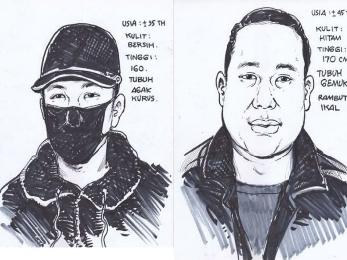 Sketsa Wajah Pelaku Penembakan di Kelapa Gading Disebar, Polisi Periksa 13 Saksi