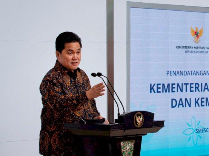 Erick Thohir Menilai Keputusan Pemerintah Tidak Lockdown Sudah Tepat