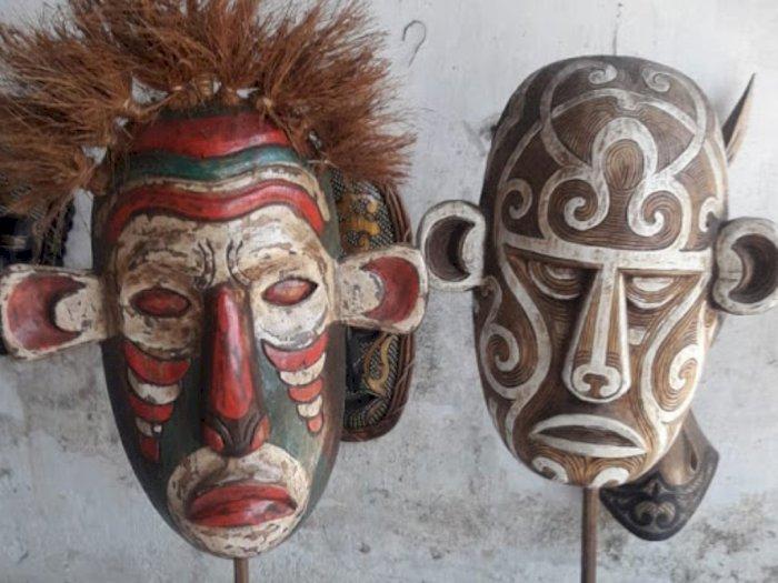 Topeng Misterius Suku Maori Berisi Jiwa Prajurit yang Telah Mati