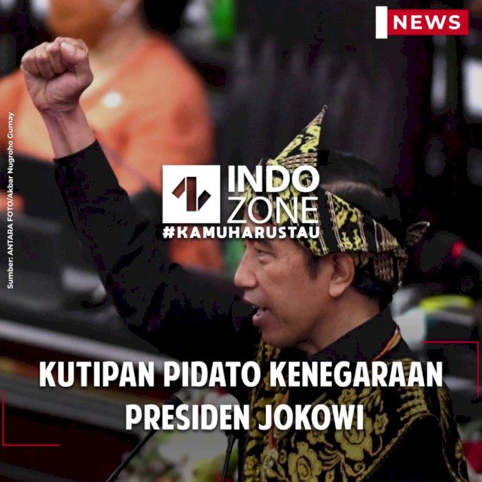 Kutipan Pidato Kenegaraan Jokowi