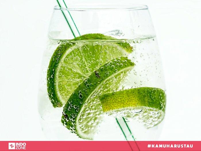 minuman soda lemon dan jeruk nipis
