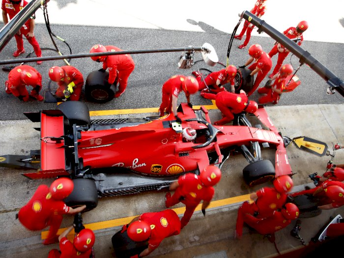 FOTO: F1: Latihan Grand Prix Spanyol