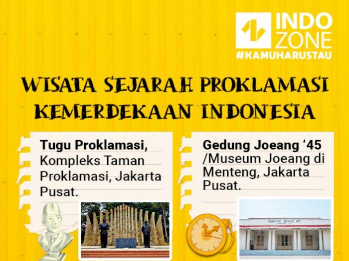 Wisata Sejarah Proklamasi Kemerdekaan Indonesia