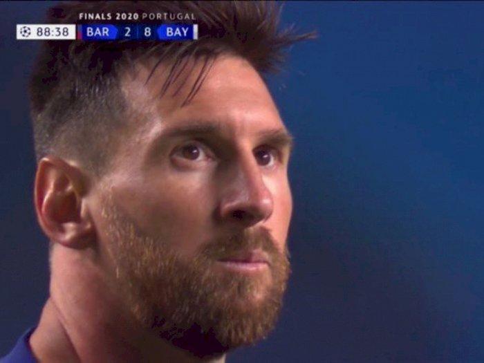 5 Meme Lucu Messi Usai Barcelona Dibantai Bayern Munchen 8-2