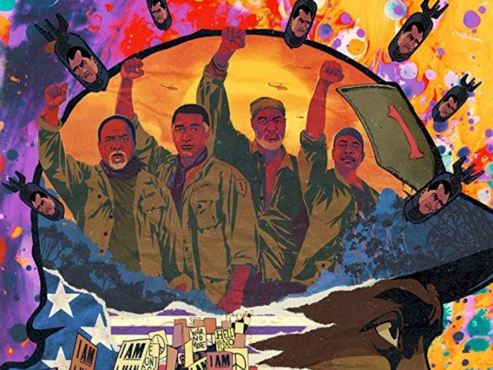 """Sinopsis """"Da 5 Bloods (2020)"""" - Veteran Perang Afrika-Amerika yang Kembali ke Vietnam"""