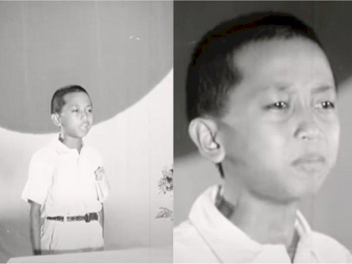 Bocah Indonesia Ini Juara Satu Lomba Bahasa Jepang 1944, Matanya Tampak Cemas