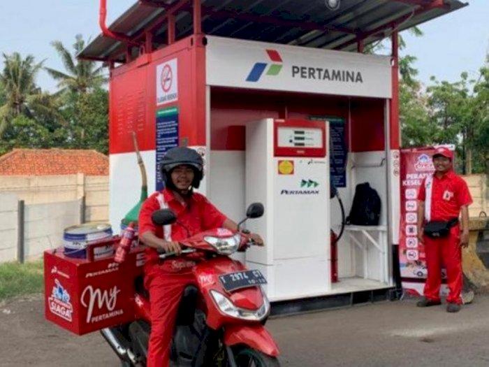 Pandemi Corona, Layanan Antar LPG dan BBM ke Konsumen Semakin Tinggi