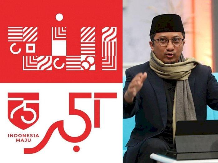 Heboh Mirip Salib, Ustaz Yusuf Mansur Unggah Logo HUT Kemerdekaan RI Berlafaz Allah
