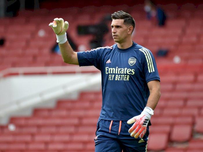 Akui Dilirik 10 Klub, Emiliano Martinez Siap Hengkang dari Arsenal