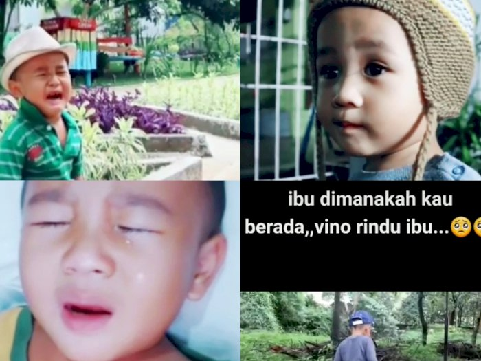 Kerinduan Bocah Kepada Ibunya yang Telah Meninggal Dunia, 'Mama Dimana? Jemput Vino'