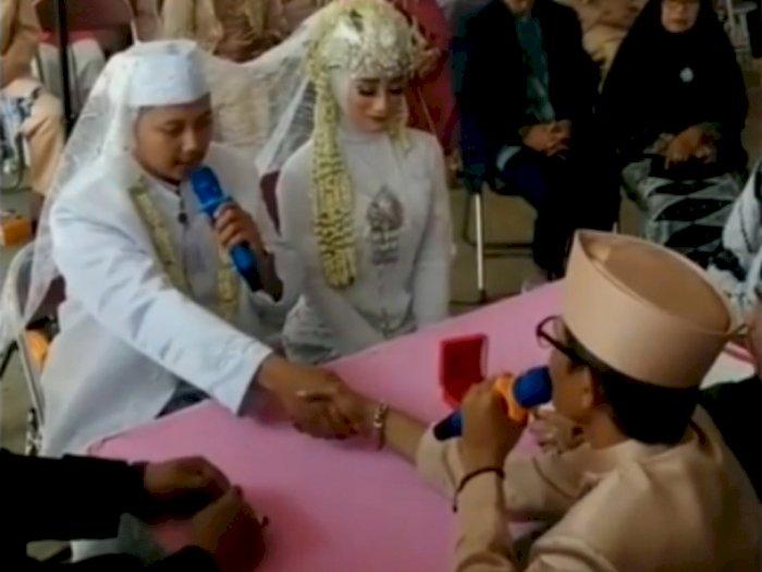 Waduh! Grogi saat Ijab Kabul, Pria ini Salah Sebut Mahar Emas 15 Gram jadi 15 Kilogram