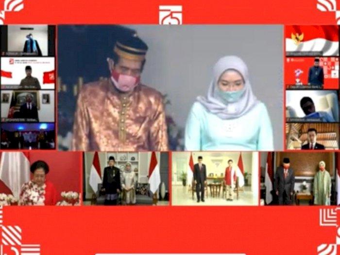 Deretan Mantan Presiden dan Wapres Ikuti Upacara HUT RI ke-75 Secara Virtual