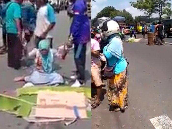 Terobos Lampu Merah, Ibu di Lumajang Menangis Meronta-ronta Kehilangan Dua Puterinya