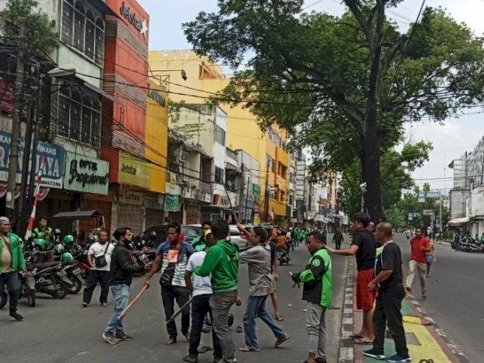 Ricuh saat Konvoi Kemerdekaan, 3 Anggota Geng Motor Diamankan Polisi Medan