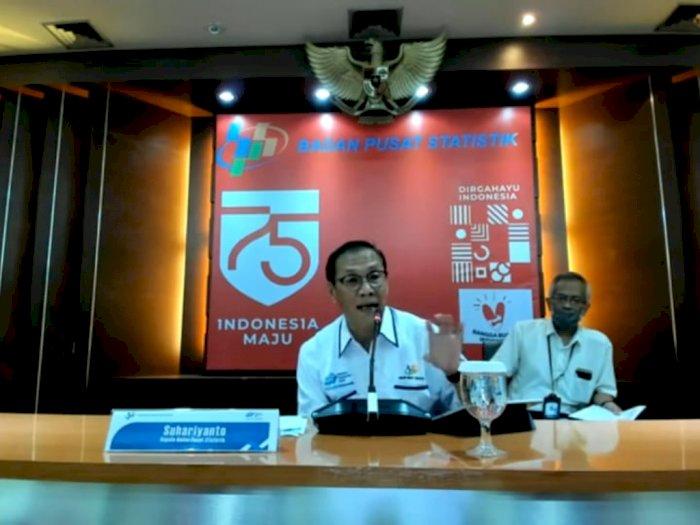 Pandemi Belum Pulih, Perdagangan Internasional RI Bulan Juli Surplus US$3,26 Miliar