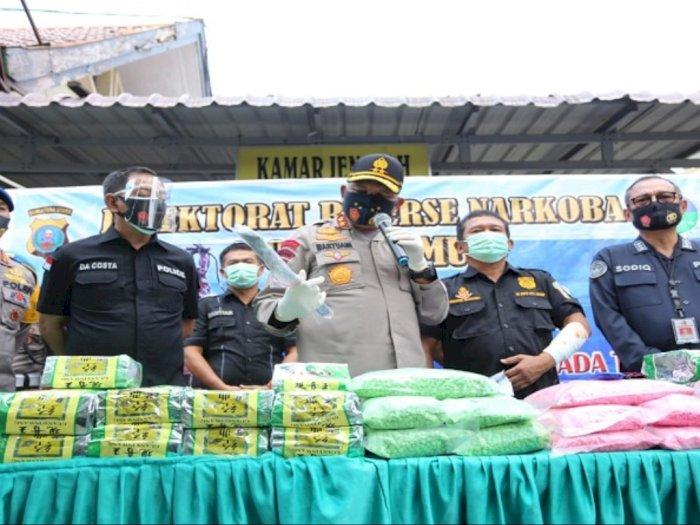 Serang Polisi Pakai Golok, Satu Tersangka Pengedar Narkoba 100 kg Sabu di Medan Tewas