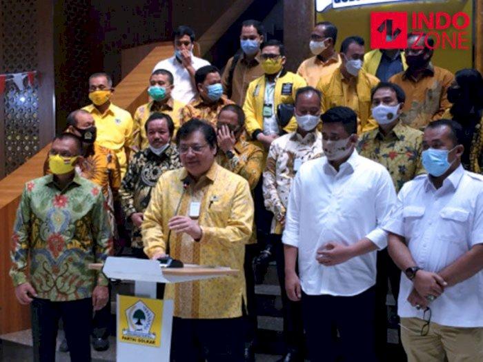 Ini Pesan Airlangga ke Bobby Nasution untuk Pilkada Kota Medan 2020