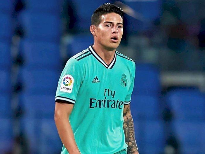 James Rodriguez, Gelandang yang Tersisih dari Real Madrid: Lebih Baik Pergi ke Inggris