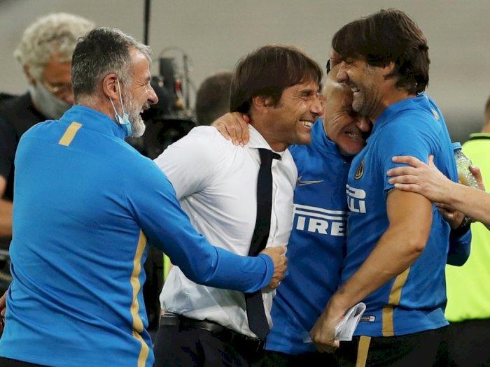 FOTO: Bungkam Shakhtar Donetsk 5-0, Inter Milan Tantang Sevilla di Final Liga Europa 2020
