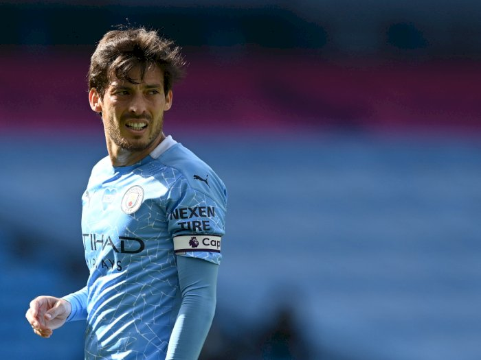 Pamit dari Etihad Stadium, David Silva dan Manchester City Mengharu Biru