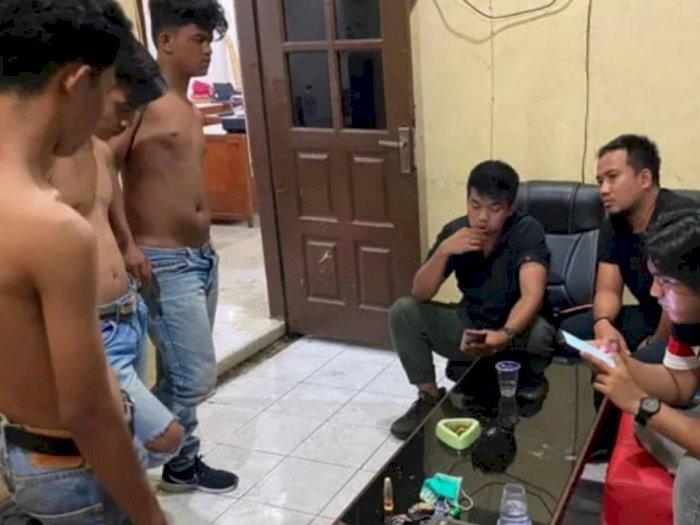 Geber Sepeda Motor di Jalan, Warga Bentrok dengan Geng Motor di Medan