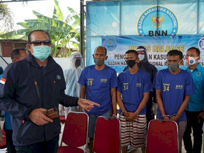 Modus Angkut Kelapa, Truk di Medan Ternyata Angkut 49 Kg Sabu dalam Kemasan Teh
