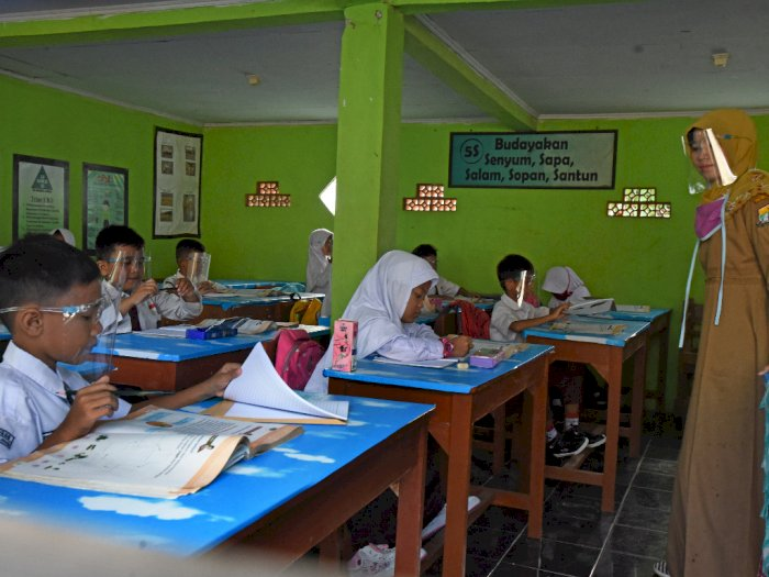 Kemendikbud Sebut 2.473 Sekolah di Zona Hijau-Kuning Telah Belajar Tatap Muka