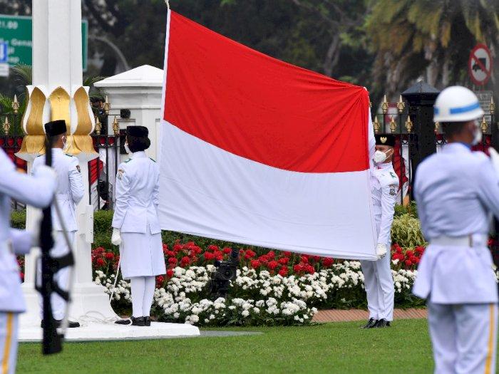 FOTO: Upacara Peringatan Detik-detik Proklamasi di Istana Merdeka