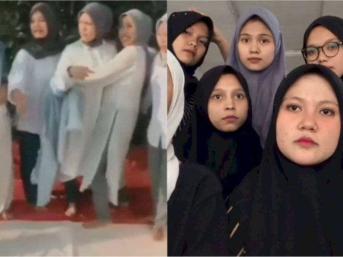 Viral karena Diduga Injak Bendera Merah Putih, Para Wanita Berhijab Ini Minta Maaf