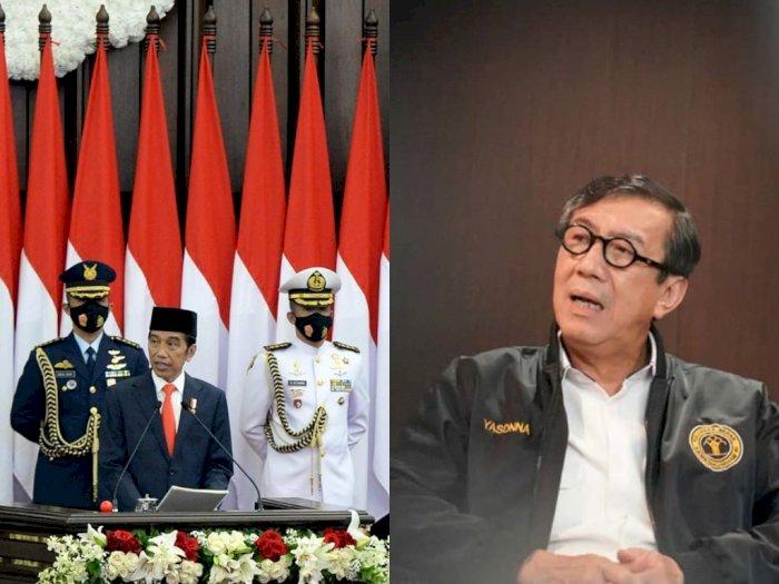 Presiden Jokowi lantik 9 Anggota Kompolnas 2020-2024, Ada Menteri Yasonna Laoly