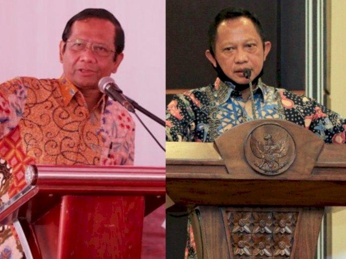 Resmi Dilantik Jokowi, Mahfud MD dan Tito Karnavian Jadi Ketua dan Wakil Kompolnas