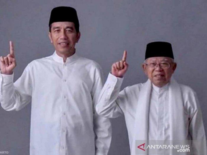 Pemerintah Luncurkan Prangko Seri Gambar Jokowi dan Ma'ruf Amin, Begini Penampakannya