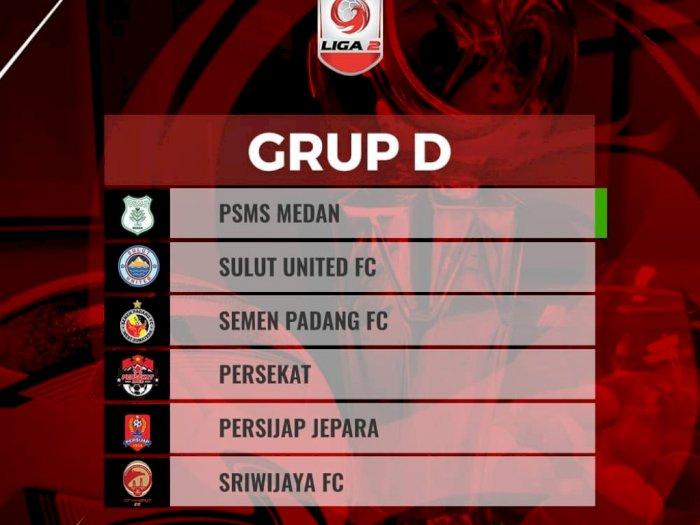 PSMS Jadi Tuan Rumah Grup D Liga 2 Indonesia, Tapi Tergabung di Grup Neraka